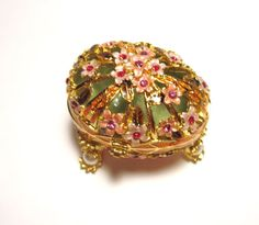 VERSAILLES Inspired EGG Shaped Pill Case by NelliesTreasureTrove, $53.98