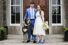 Wedding inspiration: Modern Irish style at the mystical Slane Castle Irish Wedding Dresses, Handmade Wedding Dresses, Wedding Dress With Veil, Wedding Shoot, Wedding Video Inspiration, Bridal Lace, Castle, Blue Heels, Beaded Lace