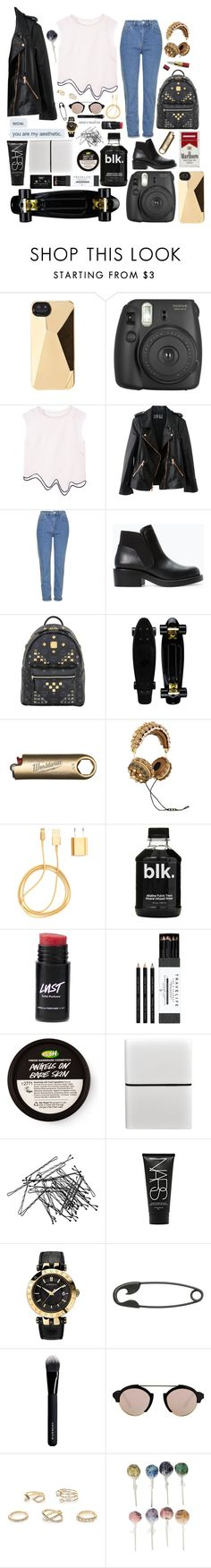 """""""//YOU ARE MY AESTHETIC//"""" by beingsuperwhomerlockwood ❤ liked on Polyvore featuring Marc by Marc Jacobs, Rosegold, Topshop, Zara, MCM, Dolce&Gabbana, PhunkeeTree, Mark's Tokyo Edge, CASSETTE and H&M"""