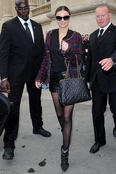 Front Row semanas de la moda Paris primavera verano 2014 - Miranda Kerr | Galería de fotos 37 de 199 | Vogue México