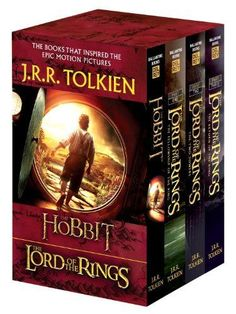 The Hobbit and the Lord of the Rings (the Hobbit / the Fellowship of the Ring / the Two Towers / the by J.R.R. Tolkien http://www.amazon.com/dp/0345538374/ref=cm_sw_r_pi_dp_J-lEwb1QTN5YD
