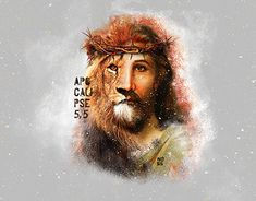 El ruge mas que nadie Jesus Tattoo, Christ Tattoo, Jesus Wallpaper, Lion Of Judah Jesus, Jesus Drawings, Lion And Lamb, Pictures Of Jesus Christ, Jesus Art, Prophetic Art
