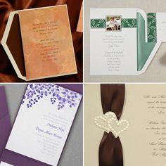Splendid Fall Wedding Invitations + Half-Off Favors, Gifts & Decor thru 8/8/15 #FallWeddingInvitations
