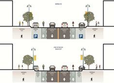 SFMTA Unveils 6th St. Proposal With Road Diet, Bike Lanes, Wider Sidewalks | Streetsblog San Francisco