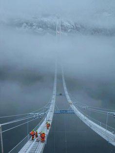 Hardanger Bridge, Norway Norway Sky Bridge, Scary Bridges, Tianmen Mountain, Cities, Advertisement Images, China Image, Japan Image, Mountain Park, Norway