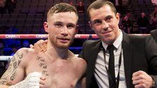 IBF world super-bantamweight champion Carl Frampton says he wants a unification fight against England's Scott Quigg.