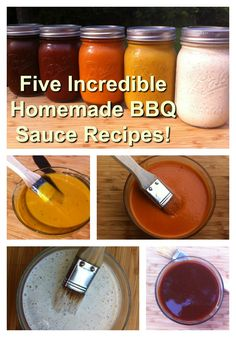 Take your Grill Skills to the next level with these five amazing homemade bbq sauce recipes! (Burger Recipes With Egg) Barbecue Recipes, Grilling Recipes, Grilling Ideas, Rib Recipes, Meal Recipes, Burger Recipes, Healthy Recipes, Homemade Bbq Sauce Recipe, White Bbq Sauce