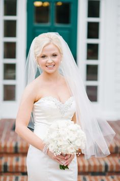 Gorgeous bride: http://www.stylemepretty.com/little-black-book-blog/2015/05/20/elegant-summer-wedding-at-cypress-grove-estate-house/ | Photography: Best Photo - http://joshandrachelbest.com/