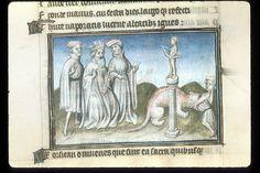 Publius Papinius Statius Thebais , with the argumenta antiqua; Achilleis, Francja, ok. 1405, f16