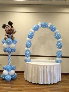 Resultado de imagem para baby shower mickey #decoracionbabyshower