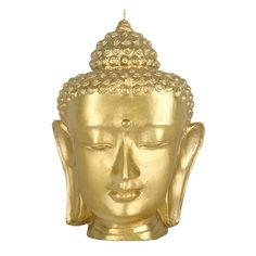 Buddha Candle in Gold