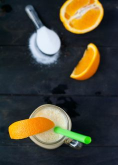 Throw 6 simple ingredients into a blender and, in no time, you will have a delicious and creamy orange smoothie! Sweet and fresh, this makes a zesty alternative to a standard milkshake recipe.
