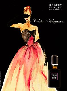 Fracas by Robert Piguet - the ultimate...my absolute favourite. Vintage glamour in a bottle; not for the faint-hearted! Rich, sensuous, intoxicating...amazing.