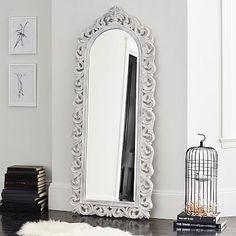 Ornate Floor Mirror