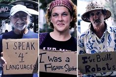 20 Things You Didn't Know About Homeless People >> http://www.takepart.com/video/2014/07/30/human-side-homelessness?cmpid=tpdaily-eml-2014-07-30