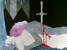 Belladonna of Sadness 1973 Directed and co-written by Eiichi Yamamoto and inspired by Jules Michelet's non-fiction book Satanism and Witchcraft. Belladonna Of Sadness, Revolutionary Girl Utena, Japan Illustration, Fanart, Manga, Dark Art, Art Inspo, Psychedelic, Pixel Art