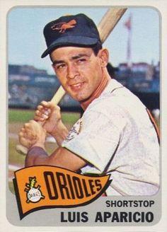 Luis Aparicio 1965 Topps