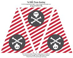 Free Pirates Birthday Party Invitation