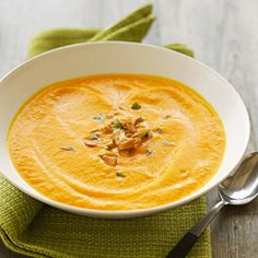 slow-cooker carrot soup Recipe from
