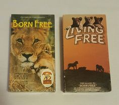 Set of 2 Born Free (1995, Brand New) & Living Free (1988, Used) VHS Tapes in DVDs & Movies, VHS Tapes | eBay Christmas Shopping