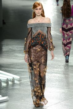 Rodarte Fall 2014 Ready-to-Wear Collection Slideshow on Style.com
