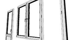 3D Model of Пластиковое окно | PVC Window