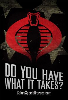 Super Punch: Promotional advertisement for Cobra is basically the same as genuine US military ads