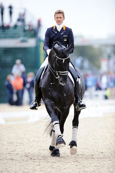 Edward Gal & Totilas- Missed you at the Olympics Toto, but miss Ed riding you even more!