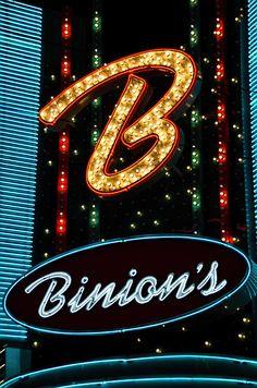 ✯ Binions - Downtown Las Vegas.