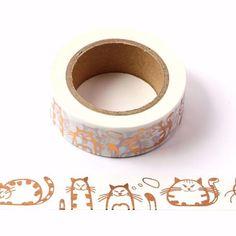Washi Tape 15mm - Nr.42 Washi Tape Uses, Gold Washi Tape, Masking Tape, Washi Tapes, Scrapbook Stickers, Diy Scrapbook, Scrapbooking, Seal Face, Ohh Deer