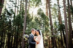 gorgeous outdoor wedding at yosemite national park with photos by Mark Janzen Photography | via junebugweddings.com