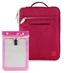 Quality Modern Style, Hot Magenta Vangoddy Select 8 Inch Hydei Clutch Sleeve Cover for All Models of the Pantech Element 8-inch HD Waterproof Tablet + Waterproof Tablet Bag Case fits 8 - 10 inch Tablets by VG Inc. $19.45. Introducing Vangoddys Premium Hydei Sleeve Collection! The Hydei sleeve is a one of kind fashion forward modern style case and best of all is the quality! Our Hydei collection is constructed in three layers: First the exterior is made of stylish nylon mater...