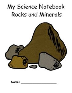 ROCKS AND MINERALS SCIENCE UNIT AND STUDENT NOTEBOOK - TeachersPayTeachers.com ($)