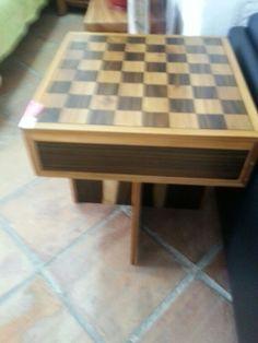 Mesa auxilar juegos (ajedrez) teka