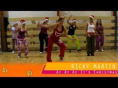 Mix in with mine. Ricky Martin - Ay Ay Ay It's Christmas - Zumba choreography by Lucia Meresova