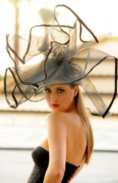 Nejmi's Millinery from Dubai.... in Dubai - who wears this kind of a hat in Dubai?
