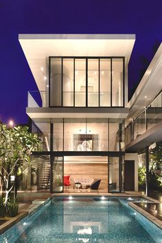 Andrew road home boasts modern design.