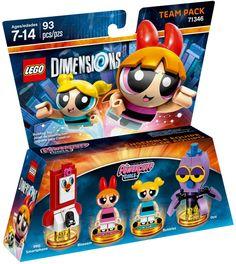 71346 The Powerpuff Girls Team Pack