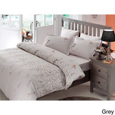 Brielle Bamboo Twill Eden 3-piece Duvet Cover Set with Giftable Box   Overstock.com Shopping - The Best Deals on Duvet Covers