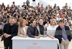Vincent Cassel, Nathalie Baye, Xavier Dolan, Marion Cotillard, Lea Seydoux and Gaspard Ulliel attend the 'It's Only The End Of The World (Juste La Fin Du Monde)' Photocall during the 69th annual Cannes Film Festival at the Palais des Festivals on May 19, 2016 in Cannes, France.