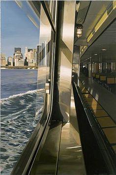 """Staten Island Ferry Getting Close to Manhattan Dock"",  2008"