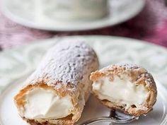 冰淇淋泡芙卷