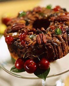 Foro Univision Postres y Delicias Dior: cake de nueces y frutas Fruit Cake