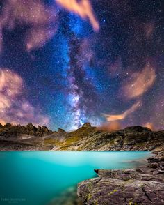 Universe of landscape, by Victoria Sabatier... #Waterbluestarsuniverse