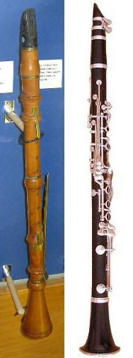 Clarinet's sound represents the cat in Peter and the Wolf.