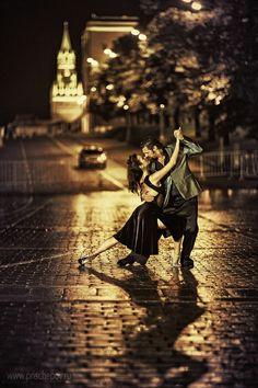 eu amo vestidos assim! =) Night Tango ~ Diego Riemer & Maria Belén Giachello ~ by Alexander Prischepov
