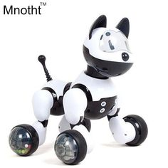New 2016 Smart Dog with 15 Function Can Walk Light UP with Music Toys Voice - Controlled Story Machine Gifts for Kids Birthday Educational Toys For Kids, Kids Toys, Children's Toys, Robot Theme, Intelligent Robot, Smart Robot, Action Toys, Electronic Toys, Gifts