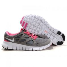 best website 3546c 73d56 Nike Free Run 2 Womens Running Shoes Grey Pink White Nike Outfits, Fall  Outfits,