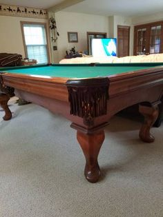 341 best sold used pool tables billiard tables over time images in rh pinterest com