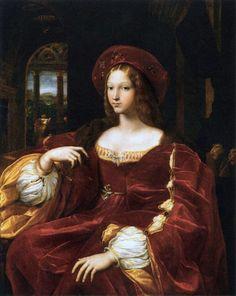 jeannepompadour:  Portrait de Jeanne d'Aragon by Raphael,1518